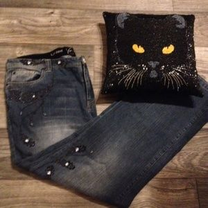 *Limited Edition Jeans reflect Midnight sparkle!!*